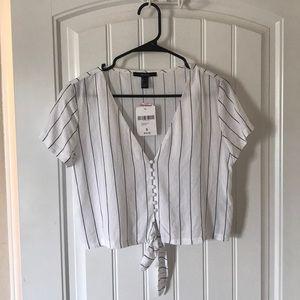 White&Black Striped Shirt